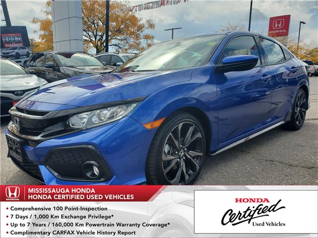 2019 Honda Civic Sport (Stk: 328151A) in Mississauga - Image 1 of 23