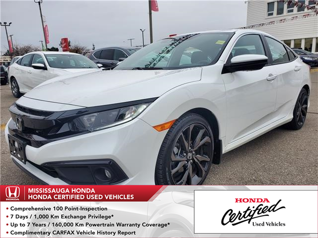 2019 Honda Civic Sport (Stk: HC2773) in Mississauga - Image 1 of 23