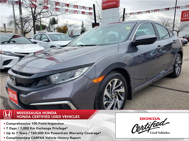 2019 Honda Civic EX (Stk: 328666A) in Mississauga - Image 1 of 23