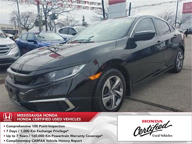 2019 Honda Civic LX (Stk: HC2788) in Mississauga - Image 1 of 22