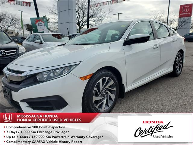 2016 Honda Civic EX (Stk: 328311A) in Mississauga - Image 1 of 23