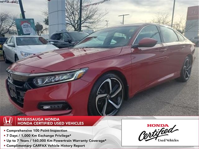 2019 Honda Accord Sport 1.5T (Stk: HC2793) in Mississauga - Image 1 of 23