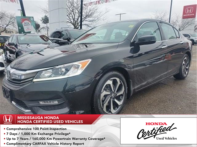 2017 Honda Accord EX-L (Stk: 328346B) in Mississauga - Image 1 of 24