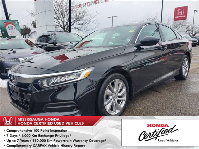 2018 Honda Accord LX (Stk: 328295A) in Mississauga - Image 1 of 21