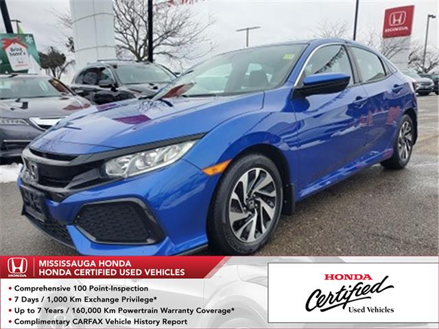 2017 Honda Civic LX (Stk: 327671A) in Mississauga - Image 1 of 21