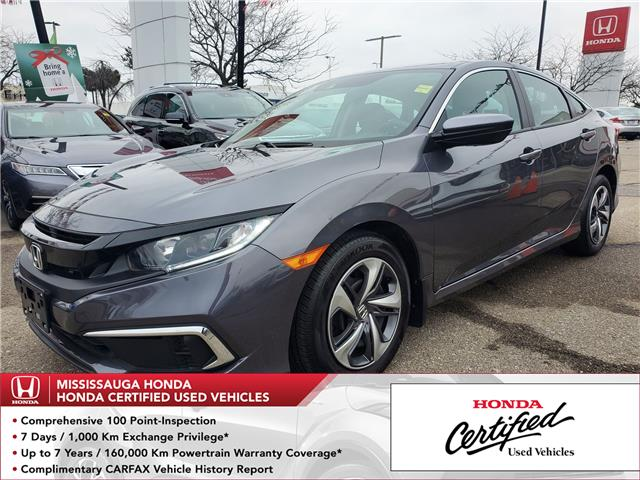 2019 Honda Civic LX (Stk: 328563A) in Mississauga - Image 1 of 20