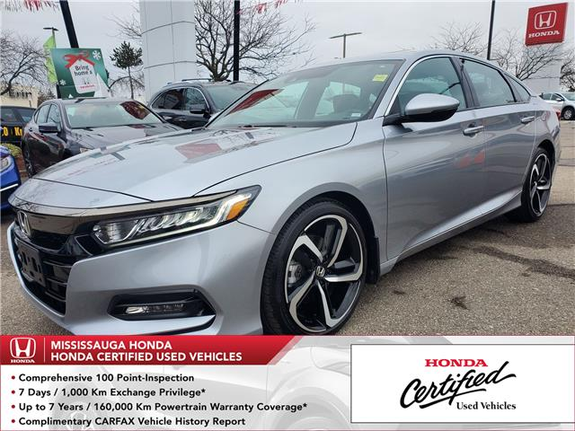 2018 Honda Accord Sport (Stk: 328717A) in Mississauga - Image 1 of 23