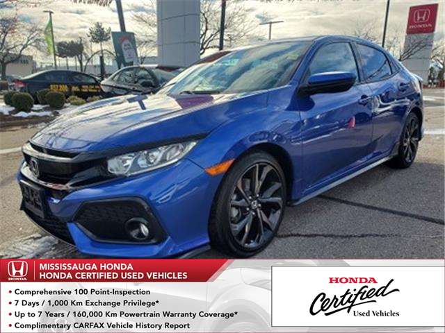 2019 Honda Civic Sport (Stk: CP0359) in Mississauga - Image 1 of 23