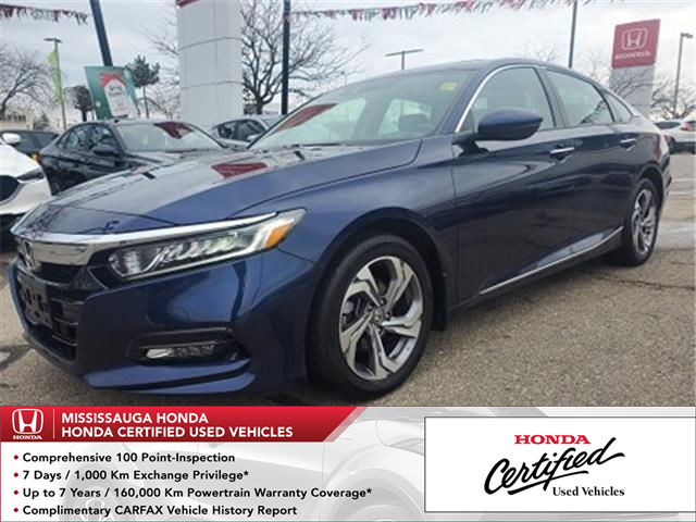 2018 Honda Accord EX-L (Stk: 328369A) in Mississauga - Image 1 of 25