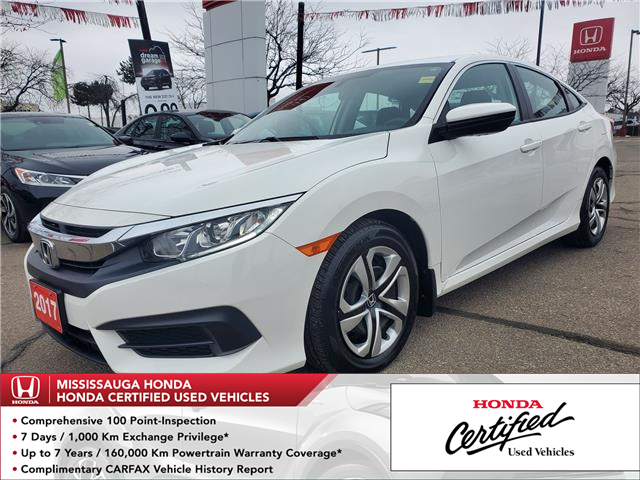 2017 Honda Civic LX (Stk: 328714A) in Mississauga - Image 1 of 21