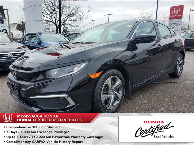 2019 Honda Civic LX (Stk: 328478A) in Mississauga - Image 1 of 21