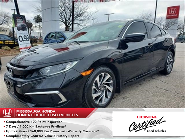 2019 Honda Civic EX (Stk: HC2829) in Mississauga - Image 1 of 23