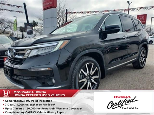 2019 Honda Pilot Touring (Stk: 328881A) in Mississauga - Image 1 of 28