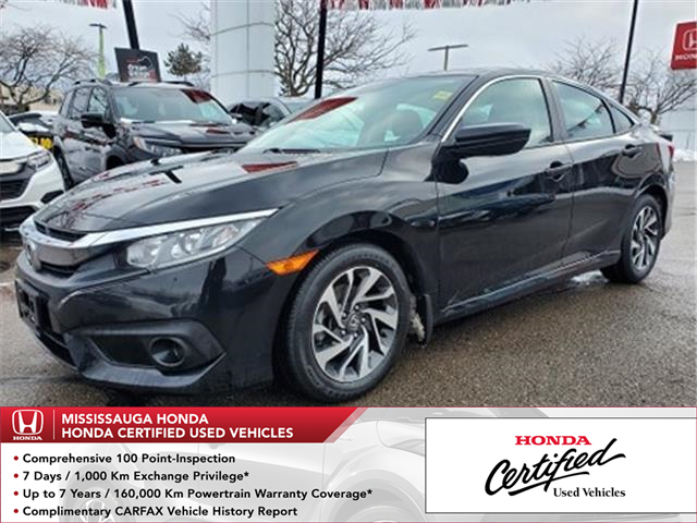 2017 Honda Civic EX (Stk: HC2851) in Mississauga - Image 1 of 23
