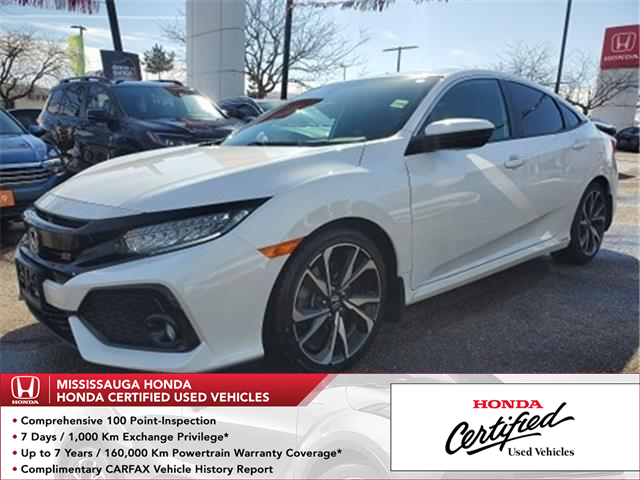 2018 Honda Civic Si (Stk: 328794A) in Mississauga - Image 1 of 25