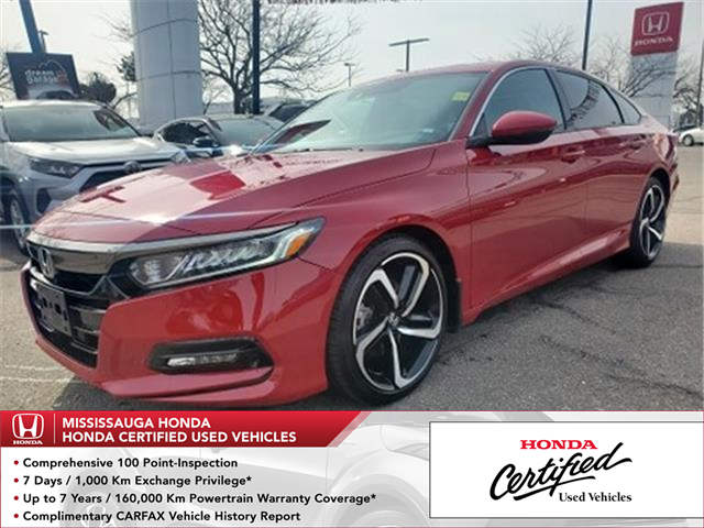 2019 Honda Accord Sport 1.5T (Stk: 327248A) in Mississauga - Image 1 of 23