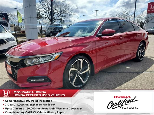 2018 Honda Accord Sport 2.0T (Stk: 329052A) in Mississauga - Image 1 of 23