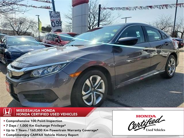 2018 Honda Civic LX (Stk: 328824A) in Mississauga - Image 1 of 21
