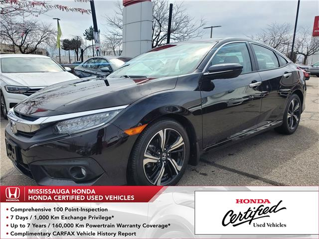2017 Honda Civic Touring (Stk: 329058A) in Mississauga - Image 1 of 26