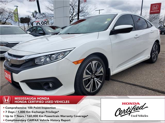 2018 Honda Civic EX-T (Stk: HC2887) in Mississauga - Image 1 of 23