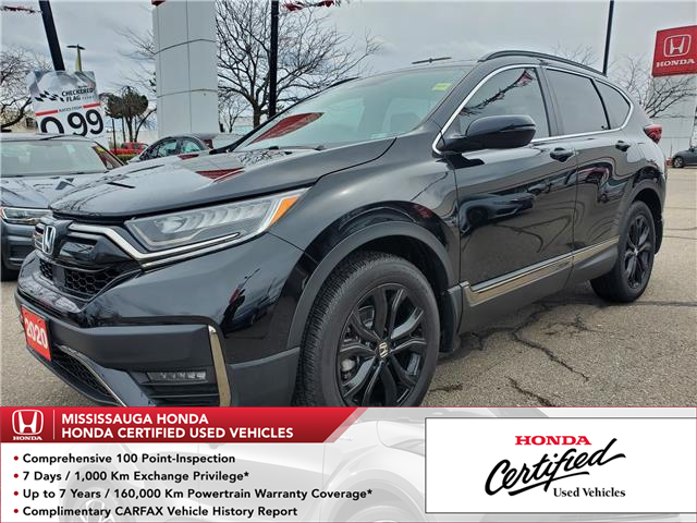 2020 Honda CR-V Black Edition (Stk: WC0070) in Mississauga - Image 1 of 25