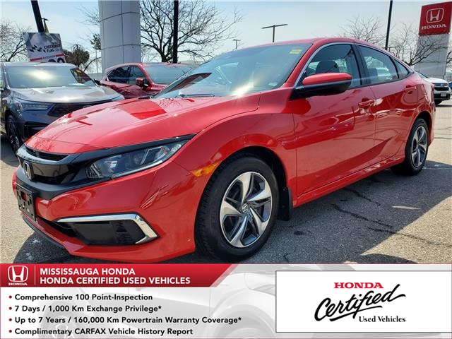 2019 Honda Civic LX (Stk: 328859A) in Mississauga - Image 1 of 21