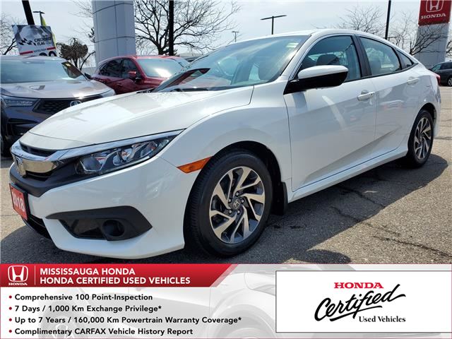 2018 Honda Civic SE (Stk: 328987A) in Mississauga - Image 1 of 21