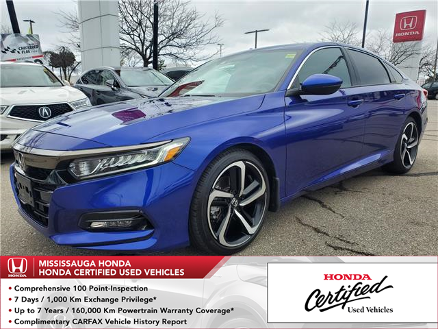2019 Honda Accord Sport 1.5T (Stk: CP0402) in Mississauga - Image 1 of 23