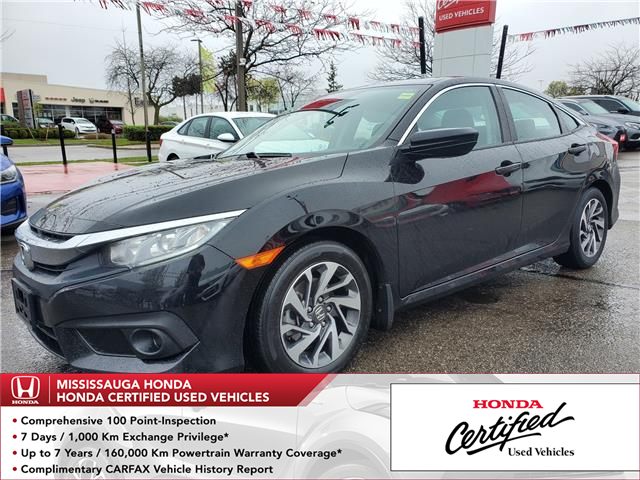 2018 Honda Civic EX (Stk: 327823A) in Mississauga - Image 1 of 22