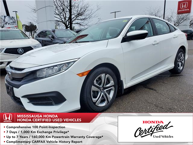 2018 Honda Civic LX (Stk: 328837B) in Mississauga - Image 1 of 21