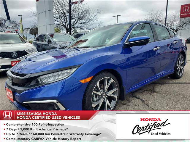 2020 Honda Civic Touring (Stk: 328772A) in Mississauga - Image 1 of 26