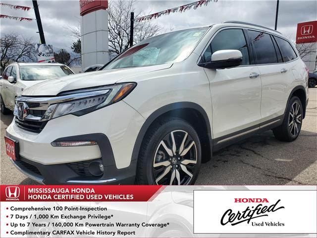 2019 Honda Pilot Touring (Stk: 328900A) in Mississauga - Image 1 of 27