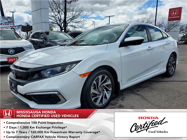2020 Honda Civic EX (Stk: HC2909) in Mississauga - Image 1 of 24