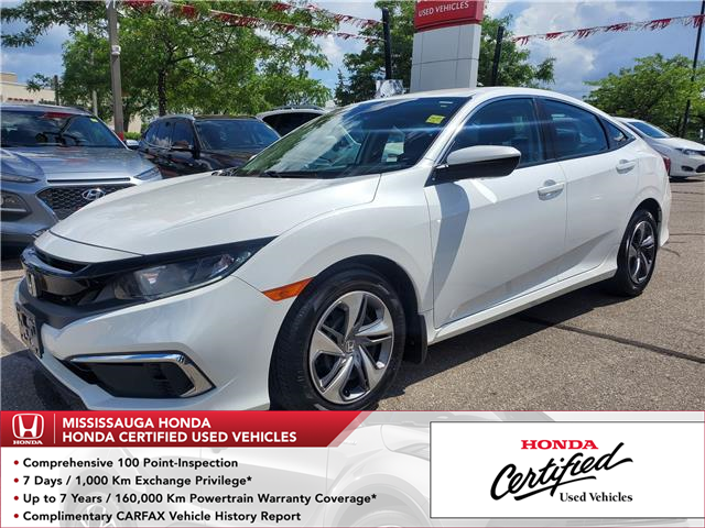 2019 Honda Civic LX (Stk: 329155A) in Mississauga - Image 1 of 21