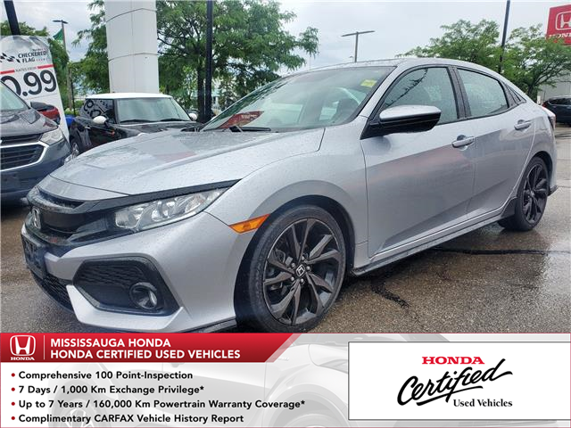 2017 Honda Civic Sport (Stk: 329358A) in Mississauga - Image 1 of 24
