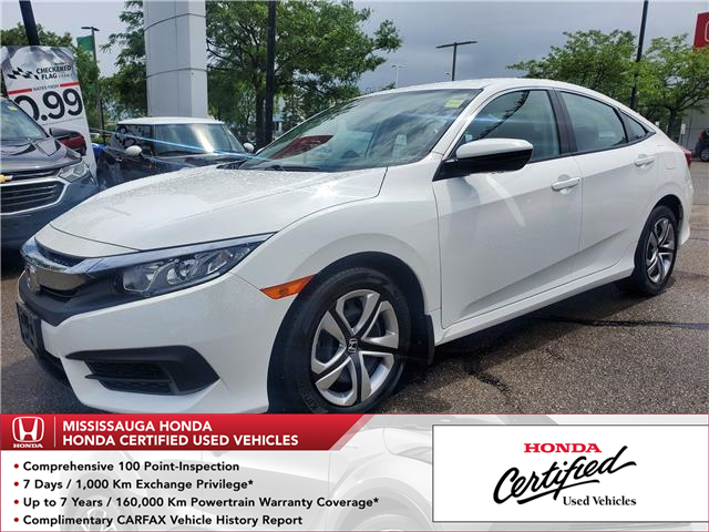 2018 Honda Civic LX (Stk: 329170A) in Mississauga - Image 1 of 21
