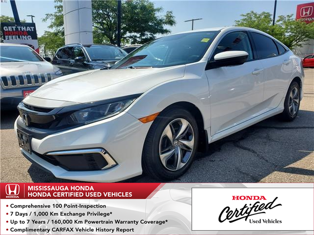 2019 Honda Civic LX (Stk: 329411A) in Mississauga - Image 1 of 21