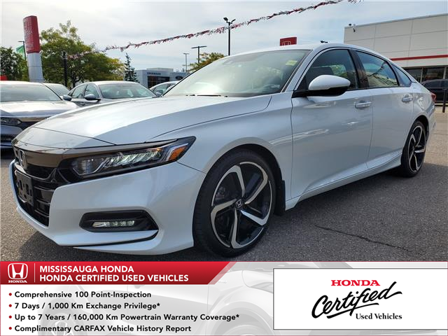 2018 Honda Accord Sport (Stk: 329185A) in Mississauga - Image 1 of 23