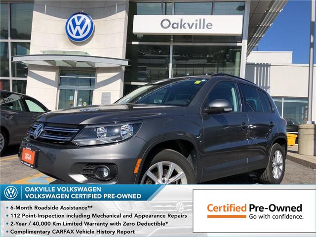 2014 Volkswagen Tiguan  (Stk: 5723V) in Oakville - Image 1 of 19
