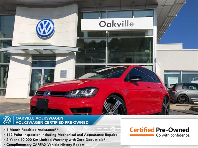 2016 Volkswagen Golf R 2.0 TSI (Stk: 5982V) in Oakville - Image 1 of 18