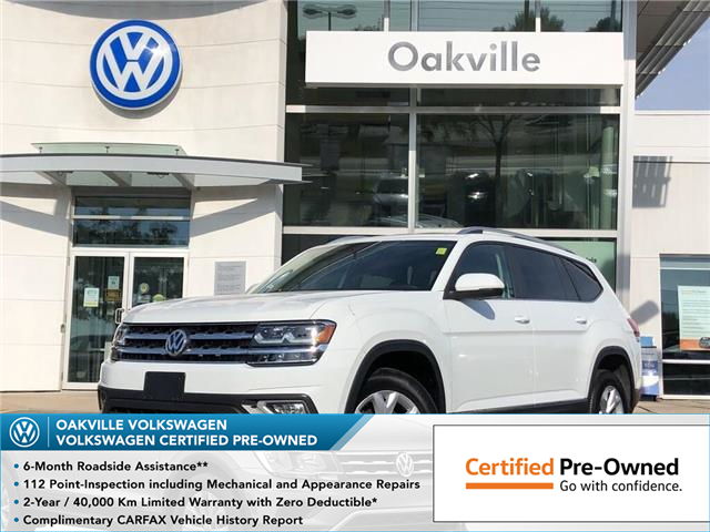 2019 Volkswagen Atlas 3.6 FSI Highline (Stk: 6027V) in Oakville - Image 1 of 19