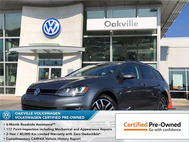 2016 Volkswagen Golf Sportwagon 1.8 TSI Comfortline (Stk: 6014V) in Oakville - Image 1 of 19