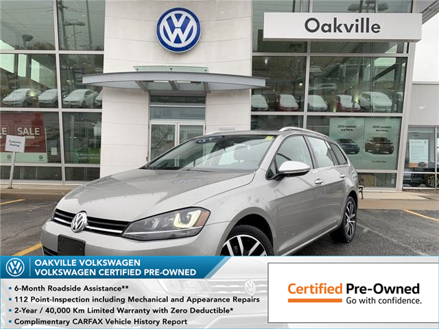 2015 Volkswagen Golf Sportwagon 1.8 TSI Highline (Stk: 7012V) in Oakville - Image 1 of 17