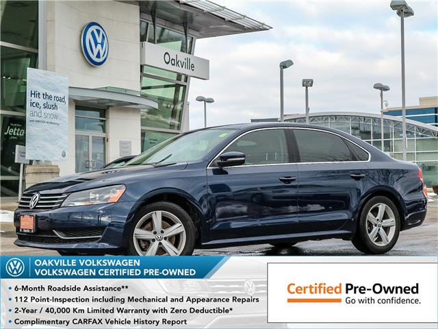 2015 Volkswagen Passat 1.8 TSI Comfortline (Stk: 7052V) in Oakville - Image 1 of 22