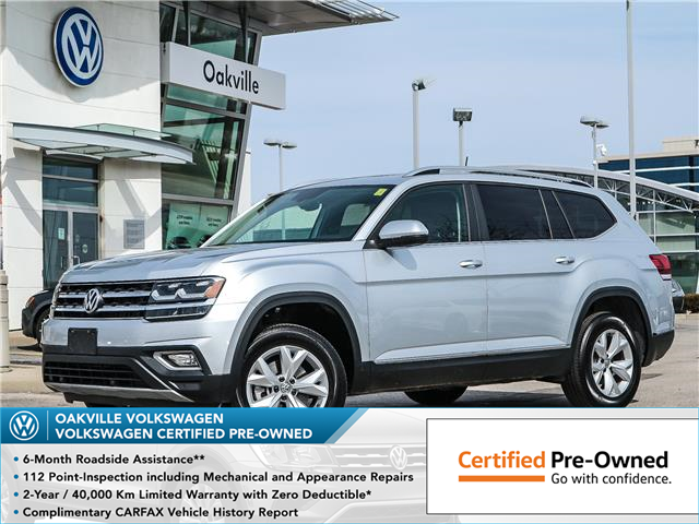 2019 Volkswagen Atlas 3.6 FSI Highline (Stk: 8030V) in Oakville - Image 1 of 26