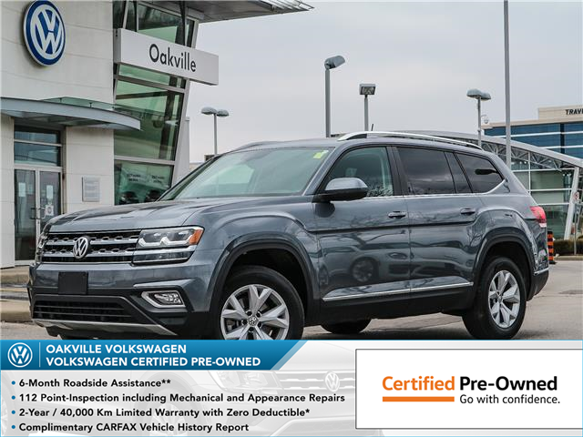 2019 Volkswagen Atlas 3.6 FSI Highline (Stk: 8043V) in Oakville - Image 1 of 24