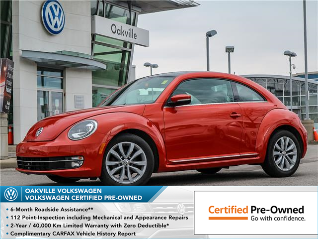 2016 Volkswagen Beetle 1.8 TSI Comfortline (Stk: 8047V) in Oakville - Image 1 of 22