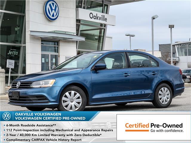 2017 Volkswagen Jetta 1.4 TSI Trendline+ (Stk: 8022V) in Oakville - Image 1 of 22