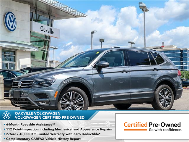 2018 Volkswagen Tiguan Highline (Stk: 9077V) in Oakville - Image 1 of 23