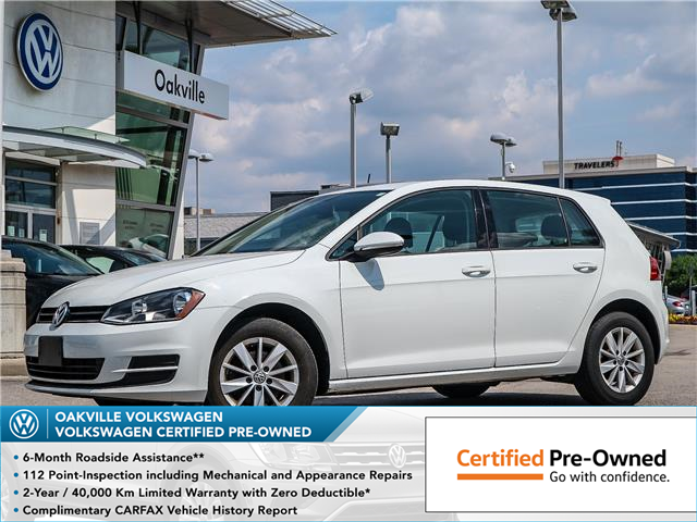 2016 Volkswagen Golf 1.8 TSI Trendline (Stk: 10034V) in Oakville - Image 1 of 19
